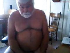 Webcam with daddy bear