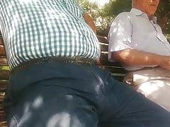 Grandpa big bulge