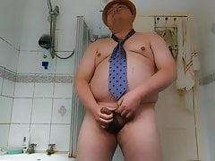 Chubby Guy's 47th cumshot