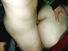 i fuck my friend bareback in the wood with cum