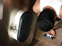 bathroom spying pt1