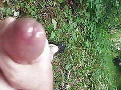 My soft cock cuming
