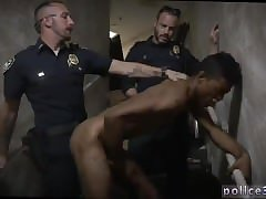 Police gay sex xxx Suspect on the Run, Gets
