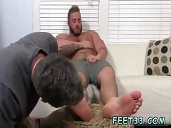 Leg hairy armpit male gay Aaron Bruiser