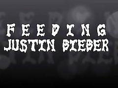 Feeding Justin Bieber