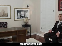 MormonBoyz- Straight stud's first time anal