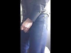 Blusenstute gay anal dildo 3-button-collar blouse and corset