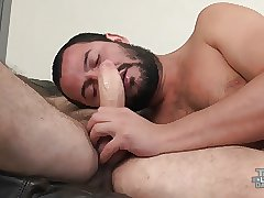 Hairy Fucker Drills Daddy Chaser