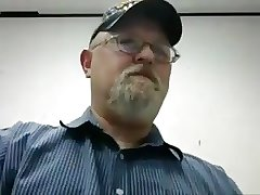 daddy with goatee cum