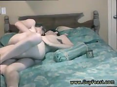 Young couple gay sex  first time Real