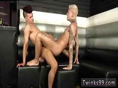 Medical exam twink gay man  couple bed
