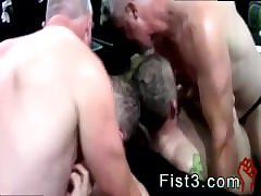 Horny daddy fucked hard watch this