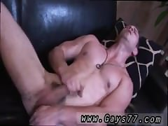 Young gay first time jerking with cum Soon