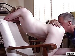 Cock Hungry Teen Can't Get Enough Bareback Daddy Dick