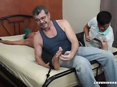 Asian Twink Alex Tied and Tickled
