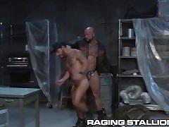 Built Stud Sean Duran Dominates his Ass