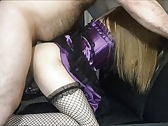 Julia X taking daddy's cock