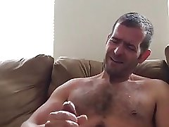 Amazing Verbal Cum Shooter with Thick Cock