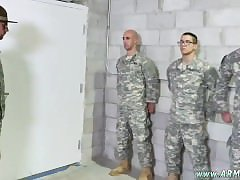Young gay boys army Good Anal Training