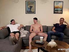 NextDoorBuddies Str8 Roomie Takes his First Cock