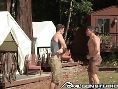 FalconStudios Sweaty Hunks Strip Down and Passion Fuck