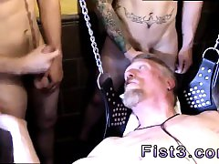 Straight black gay porn movie Post Fisting Session Jerk Off