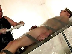 Naughty nude twinks and dp gay porn movie Taped Down Twink D