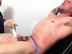 Gay emo in leggings Casey More Jerked & Tickled