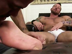 Foot up ass free movies and gay sex tv Hugh Hunter Worshiped