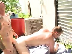 First time male orgasm from anal gay sex Real steaming gay p