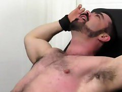 Old chubby hairy gay porn Dolan Wolf Jerked & Tickled