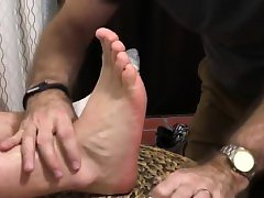 Gay male foot fetish sites Aaron Bruiser Lets Me Worship His