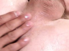 Muscle gay foot with swap