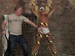 Male male bondage movie gay Slave Boy Made To Squirt