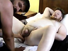 Hairy male doctors having gay male sex In inbetween fisting,