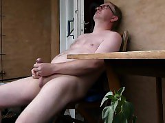 Porch masturbation