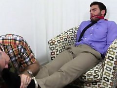 Gay sexy small boys feet Chase LaChance Tied Up, Gagged & Fo