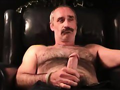 Mature Amateur Tim Jerking Off