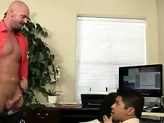 Daddy fem gay porn first time Pervy manager Mitch Vaughn eve