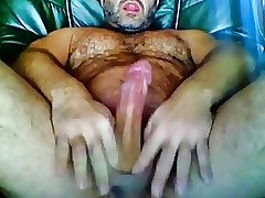 Hot bear hairy muscle cumshot swaloww