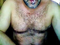 Hot bear hairy muscle cumshot swaloww