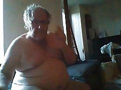 grandpa sroke on webcam