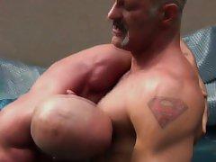 Mature guy ass fucks raw