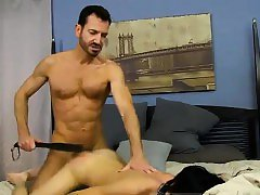 Black free gay teacher and learner hardcore porn He paddles