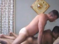 Hot dilf stud fucks and creampies in bf ass
