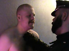 Danish Guys - A bear and his slaveboy part 1 Getting chained