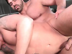 Straight guys ass stretched by a gay