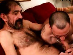 Mature straight redneck toy anal play