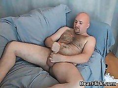 Gay hairy bear Cory Folsom pleasing part2