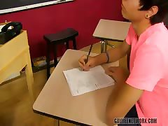 Working OVER his teacher